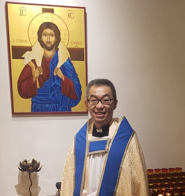 The Very Revd Kwok Keung Chan